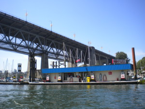 False Creek Fuels Fuel Dock