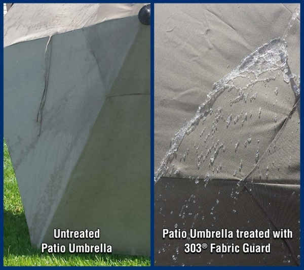 303 FABRIC GUARD Restores Water Repellency of Outdoor Fabrics and Canvas