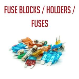 Fuse Blocks, Holders, and Fuses