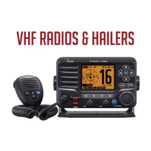 VHF Radios & Hailers